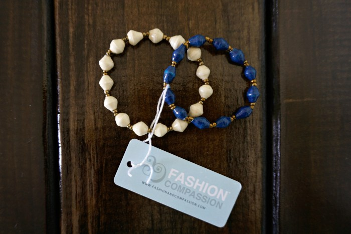 "Giveaway!! Fashion & Compassion ""Affinity"" bracelets, handmade in Uganda. 