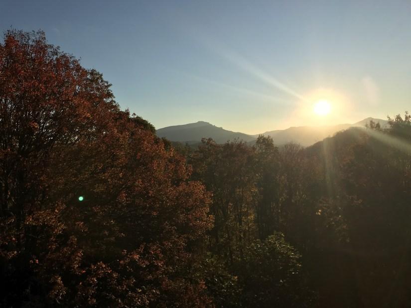 Grandfather Mountain sunset | Fairly Southern