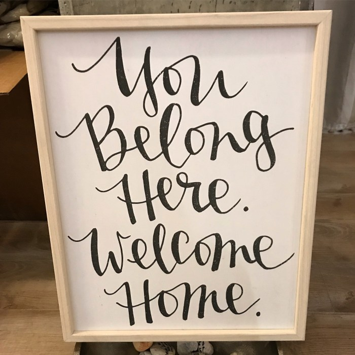 You belong here. Welcome home. | Fairly Southern