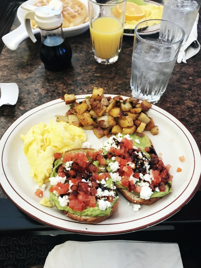 Avocado Toast! - Brunch at Brig's Restaurant in Cary, NC | Fairly Southern