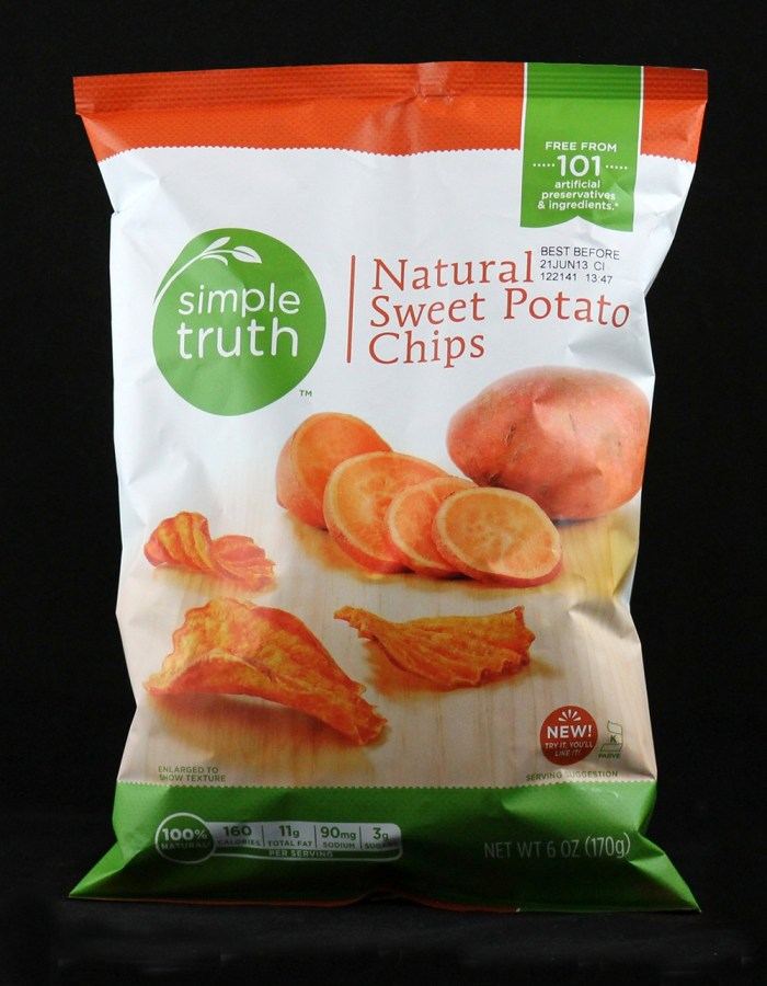 Simple Truth Sweet Potato Chips | Fairly Southern