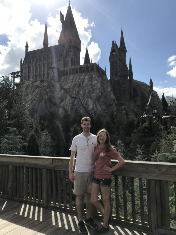 Hogwarts at Wizarding World of Harry Potter   Fairly Southern