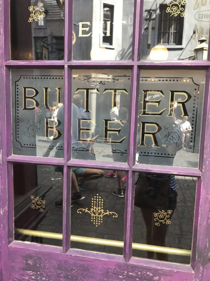 Butterbeer at Wizarding World of Harry Potter | Fairly Southern