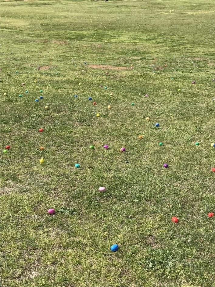 Adult Easter Egg Hunt at Dorothea Dix Park in Raleigh, NC | Fairly Southern