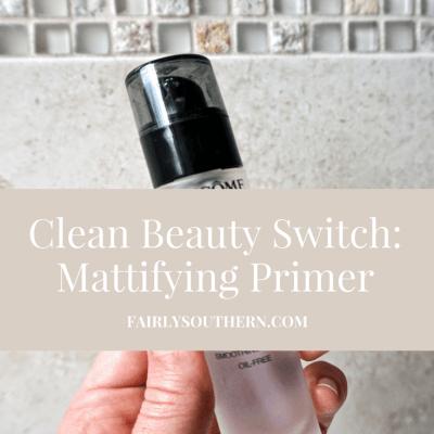 Clean Beauty Swap: Mattifying Primer