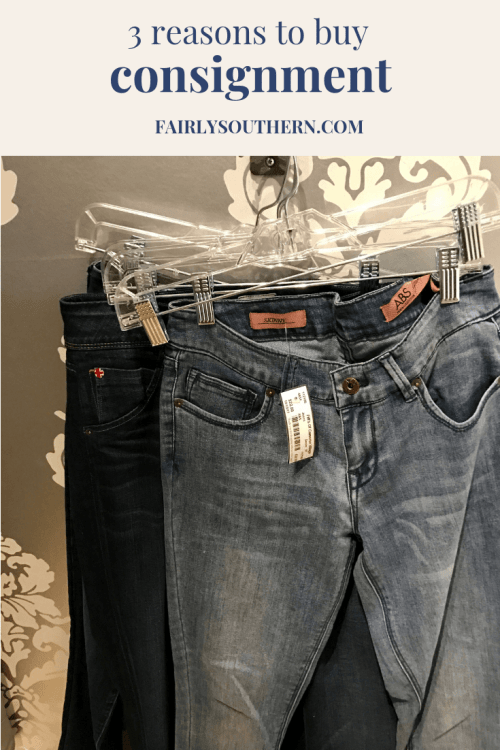 Why I Buy Consignment  |  Fairly Southern