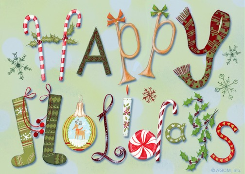 Happy Holidays e-card from Blue Mountain   Electronic Holiday/Christmas Cards: 5 Reasons to Make the Switch!   Fairly Southern