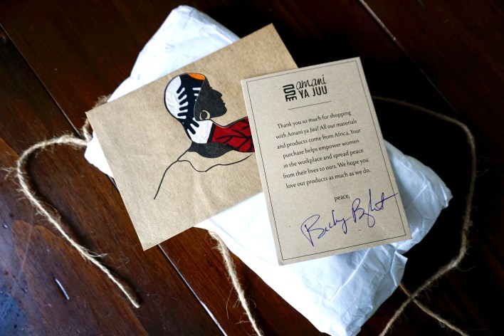 Packaging by Amani ya Juu - fair trade home goods made by artisans in Africa  |  Fairly Southern
