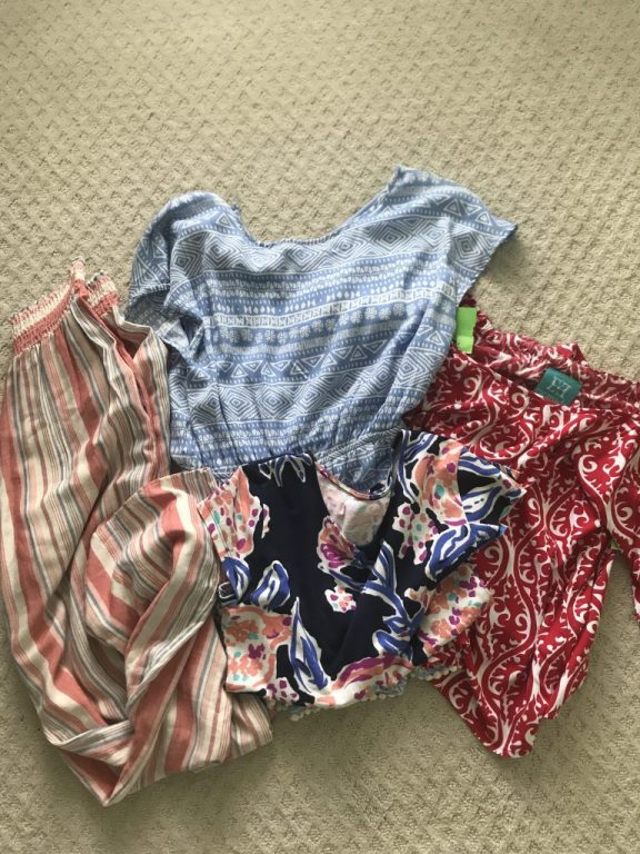 Thrift clothing finds  |  Fairly Southern