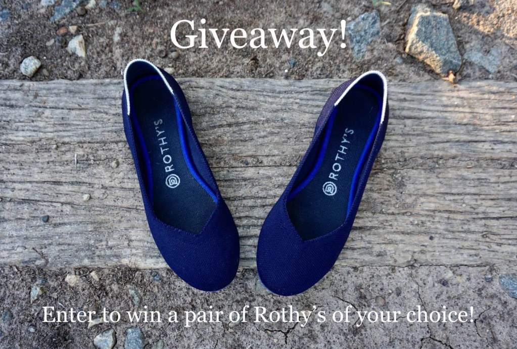 Giveaway: Win a Pair of Rothy's Recycled Plastic Shoes!  |  Fairly Southern