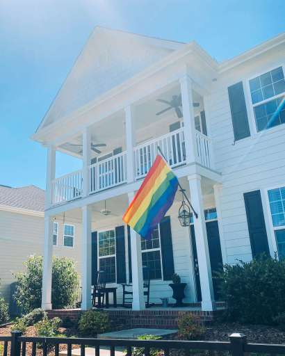 Rainbow pride flag | Fairly Southern