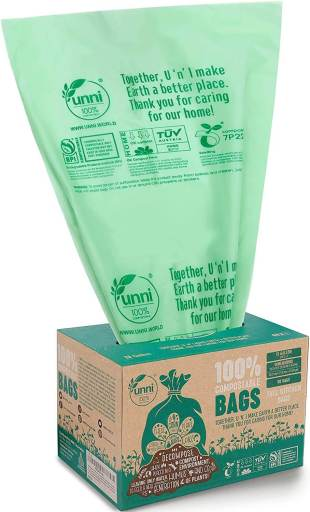 Compostable Trash Bags - How to Have a Zero Waste Pandemic Picnic | Fairly Southern