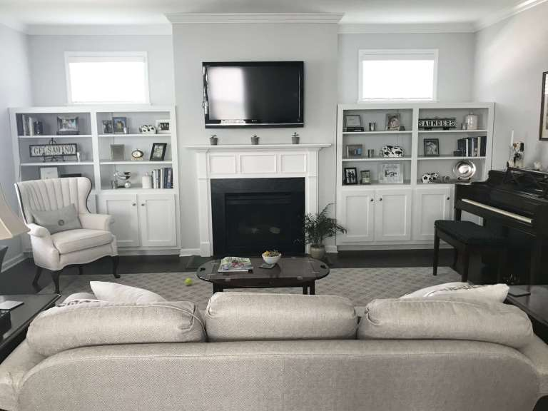 Gray living room | Fairly Southern