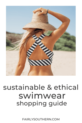 Sustainable and Ethical Swimwear Shopping Guide for Men, Women, and Kids | Fairly Southern