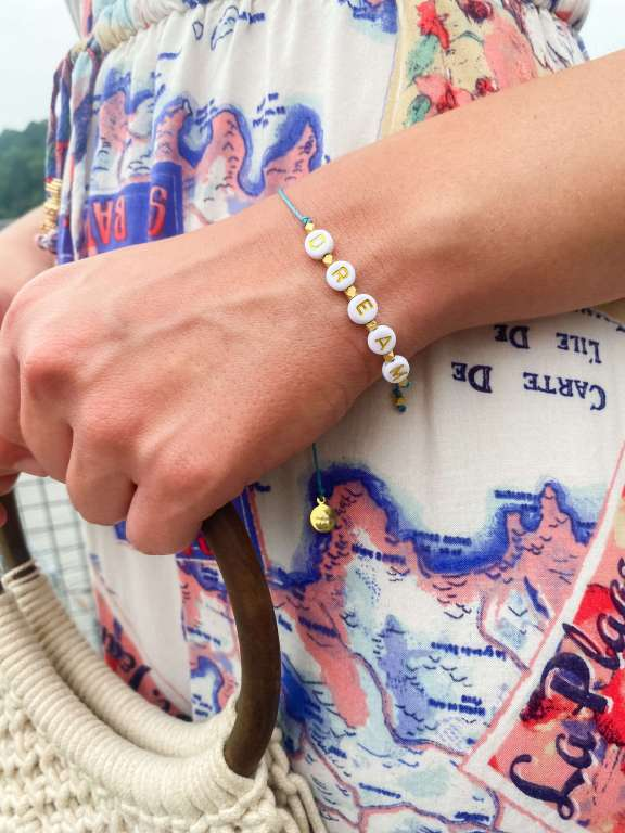 Dream Bracelet - Vacation Outfit Inspiration | Belle + Blossom Review: Fair Trade, Sustainable Accessories and Lifestyle | Fairly Southern