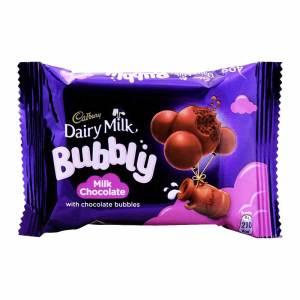 Dairy milk bubbly