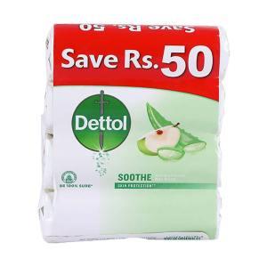 dettol soothe antibacterial bar soap