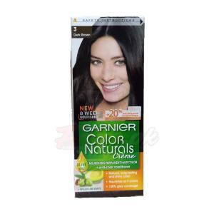 Garnier Hair Color Natural Brown number 3