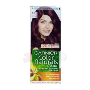 Garnier Hair Color Deep Red Brown number 3.6
