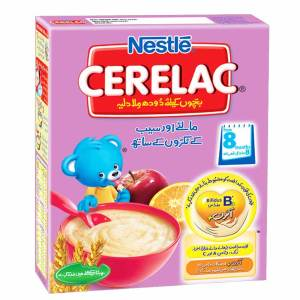Nestle Cerelac Orange and Apple Pices 8 Month