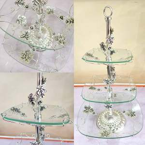 Silver Platter stand