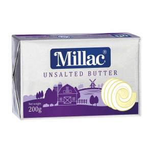 Millac unsalted butter