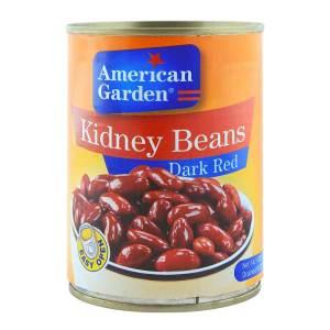American Garden Kidney Beans Dark Red