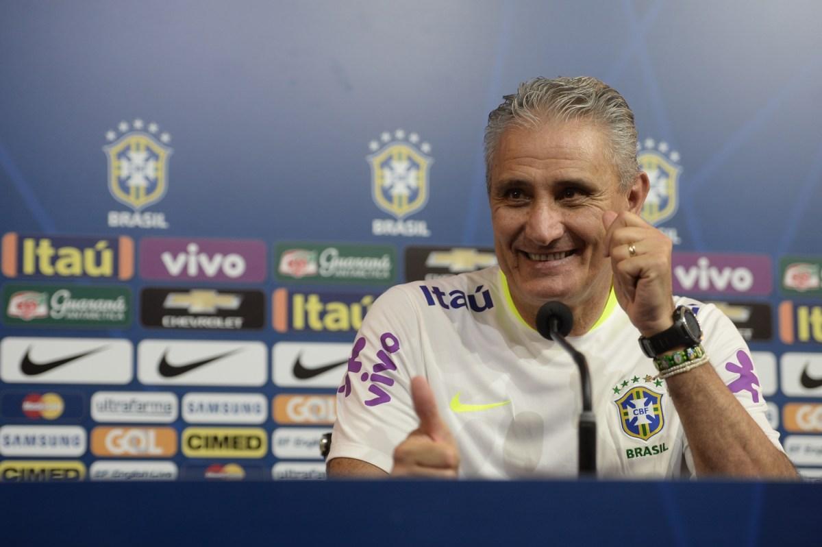 Pode sorrir, Tite (Foto: Pedro Martins / MoWA Press)