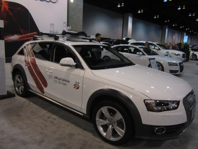 Audi Allroad. Station wagon on an A4-size chassis.