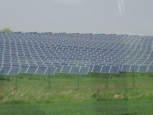 Did I mention that Germany is big on solar also? We haven't seen as many of these, but when we do they are BIG.