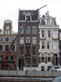 Amsterdam walk-around. It's a bird, it's a plane, it's a...crane!