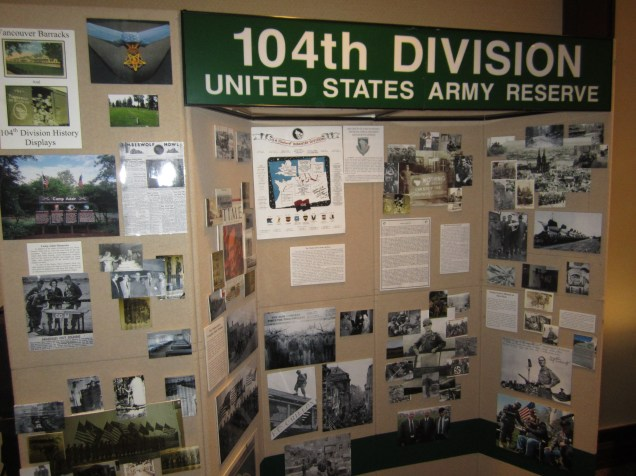 The 104th is now a Training Division.