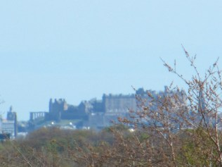 Edinburgh Castle zoomed. Even a bit of Calton Hll a mile or so beyond that.