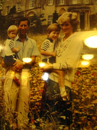 Chuck, Diana, and the boys.