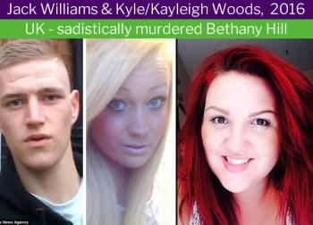 Kayleigh (Kyle) Woods, transgender murderer