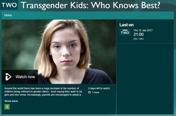 Transgender Kids: Who knows best?