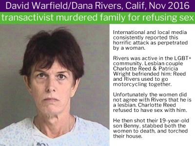 Dana Rivers in Transgender Violence