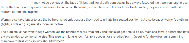 Natural miscarriages public toilets - is gender neutral ready for this? FairPlayForWomen.com