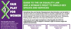 UK Equality Law and women's rights factsheet