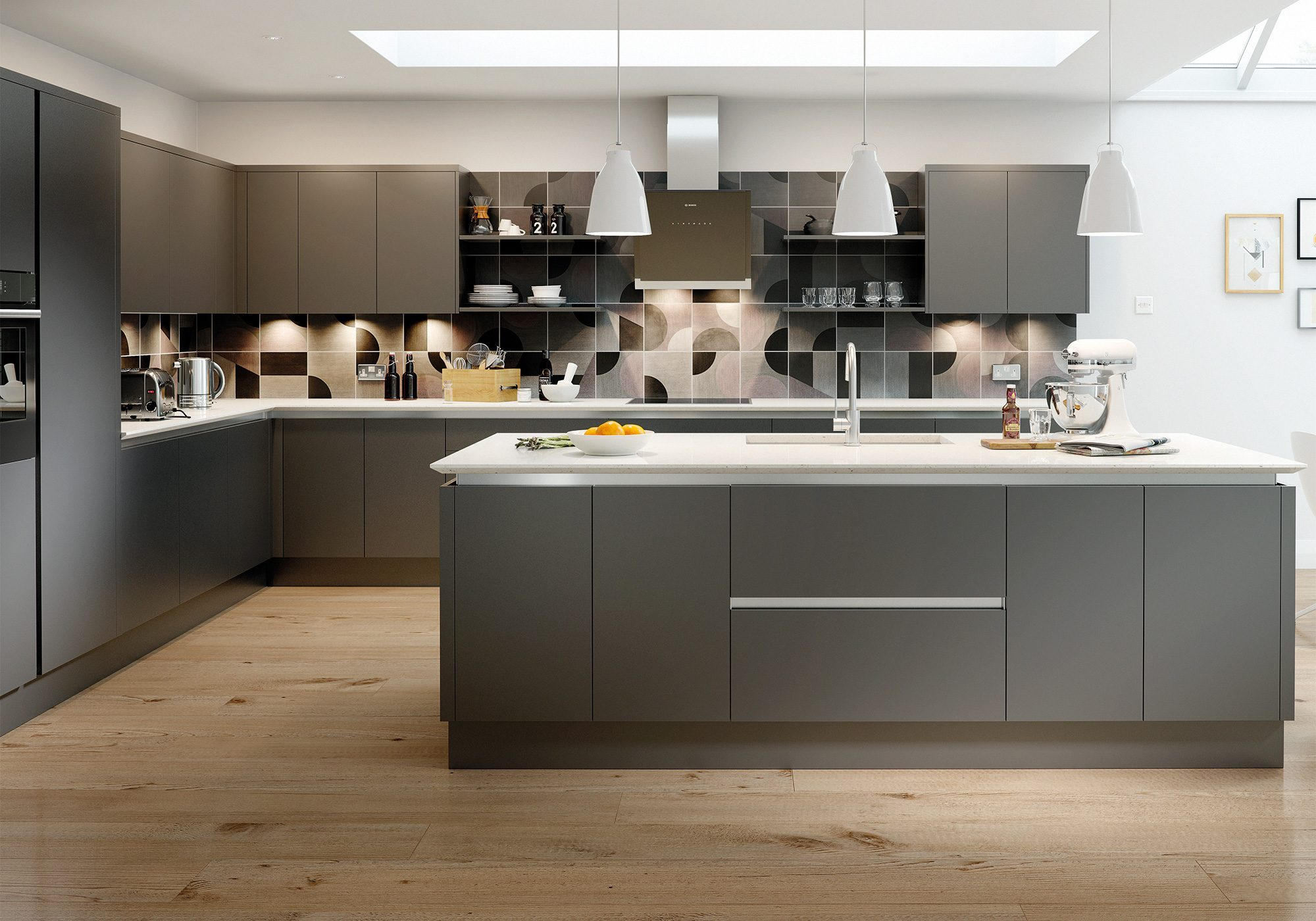 Kitchen Example Eastkeywesthideawaysco - Anthracite grey kitchen units