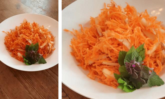 Bester Karotten-Apfel-Salat
