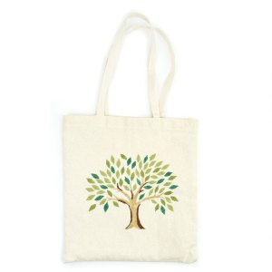 Serrv Tree of Life Tote Embroidered