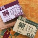 Rejuvenating Lavender & Green Tea Soaps