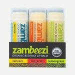 Organic Lip Balm - Variety 3 Pack
