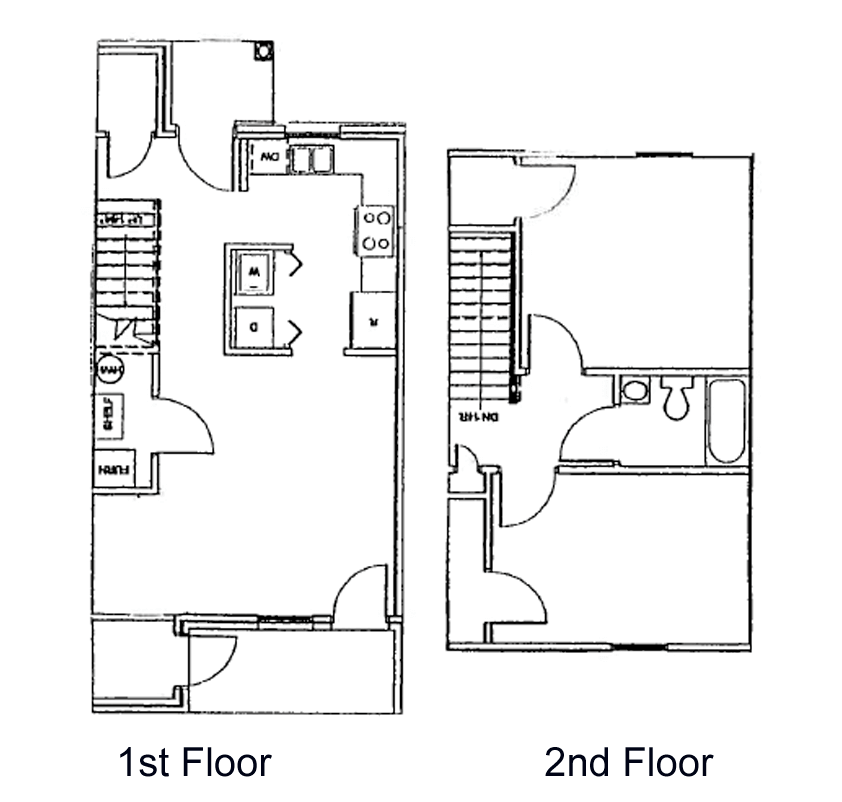 Hill View Two Bedroom Townhouse
