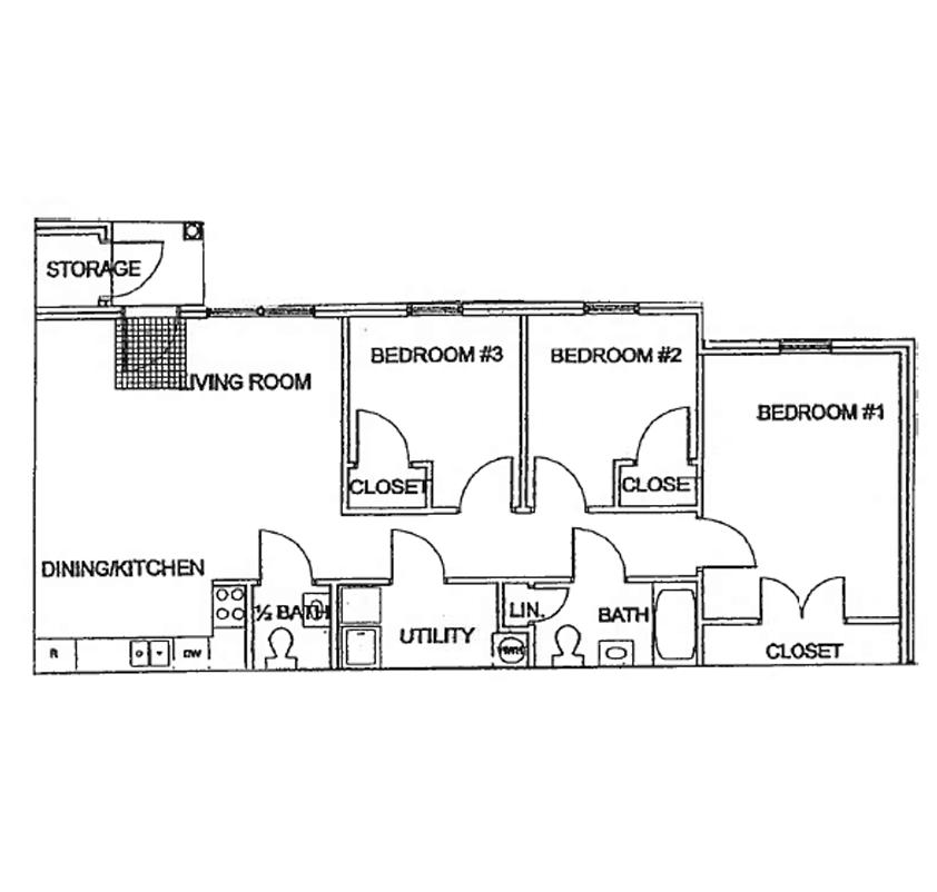 Krys View Three Bedroom Apartment