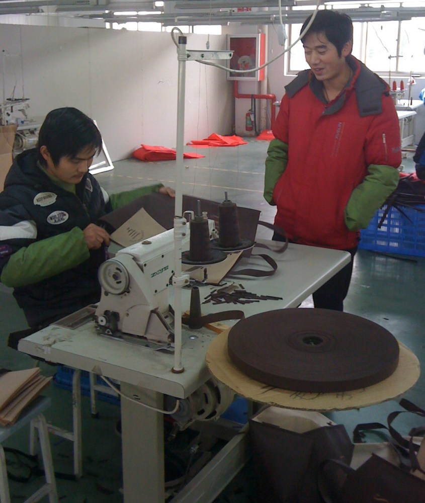 Shanghai'd Day 3 - Fabrication/Sewing Factory  (1/5)