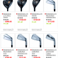 http://tinyurl.com/lbp6qan If you hear February launch, it seems like a very long time. But if you want to get your hands on the new 2015 Bridgestone golf equipment, please pre-book as quantity is very limited. (especially the ones you want!) We have custom options offered by Bridgestone listed on web. We can accommodate length, lie and loft changes if needed. And grip too. There are 5 model of irons: J15MB J15CB J15DF J15DPF J15 Cast The muscle back irons and cavity back irons are VERY limited. We are already taking pre-orders and sets are going quickly. If you have custom […]