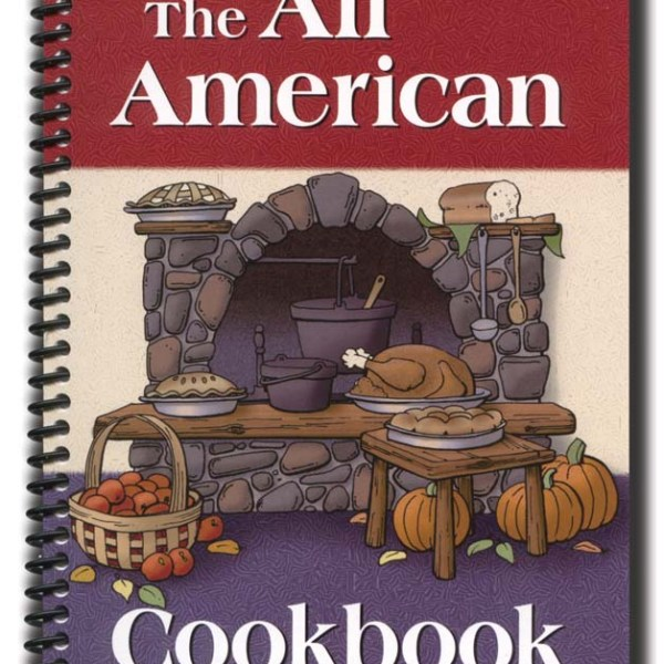 The All American Cookbook   2-2001