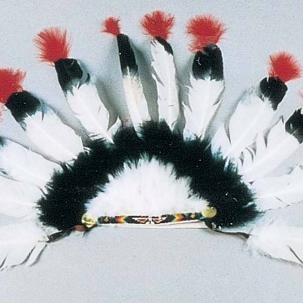 Eagle Feather Style Indian Headdress   6-9056